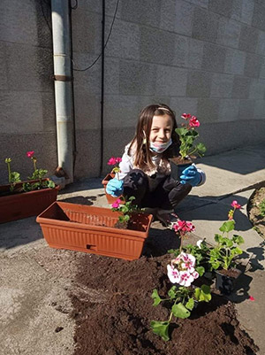 "Подкрепа за децата от учителите на ДГ ""Радост"", Севлиево по време на извънредно положение - 4"